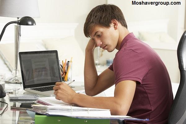 حوصله درس خوندن ندارم