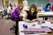 رتبه لازم قبولی رشته طراحی پارچه و لباس