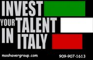 بورسیه تحصیلی 2019 - 2020 ایتالیا