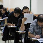باجه های رفع نقص کارت ورود به جلسه ششمین آزمون استخدامی دستگاه های اجرایی