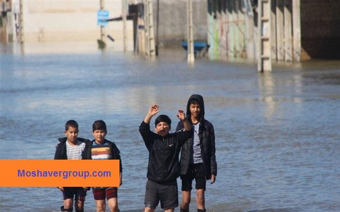 شیوه برگزاری امتحانات نهایی 98 مناطق سیل زده