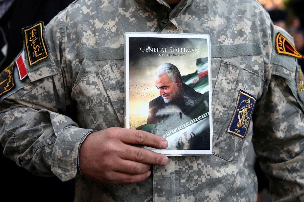 فیلم کامل جسد تکه تکه شده سردار شهید قاسم سلیمانی در سردخانه بغداد